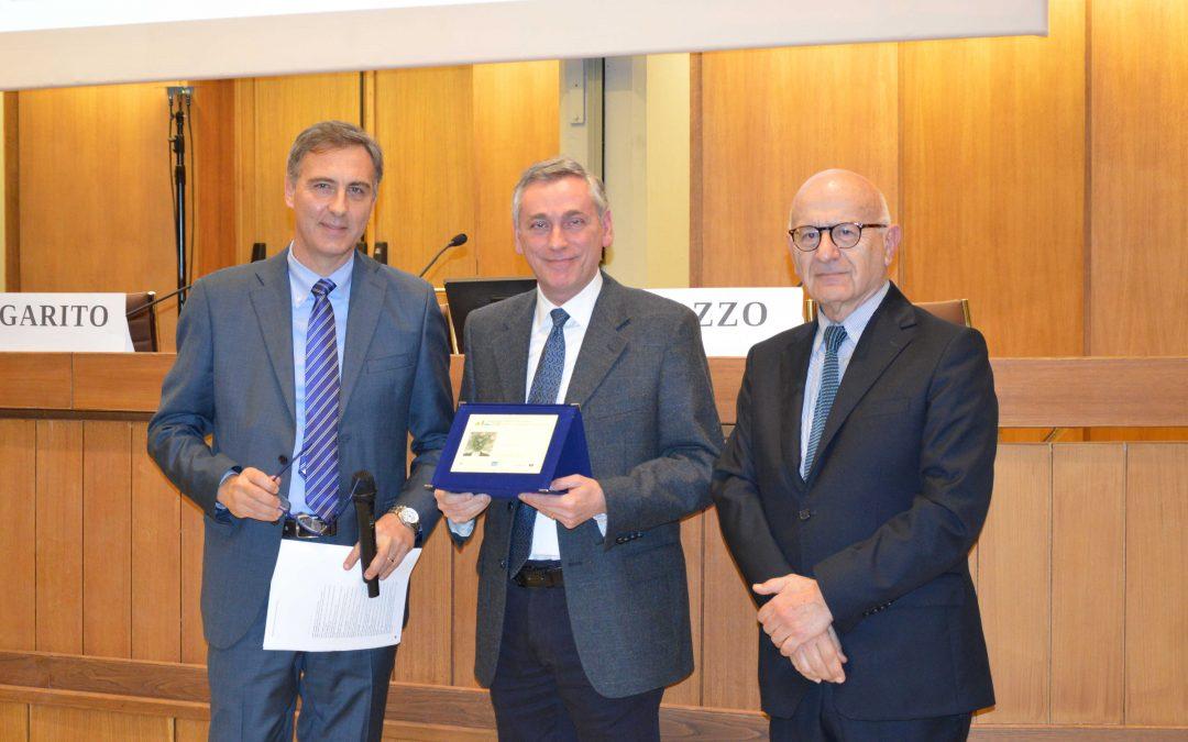 Pasini riceve il premio divulgazione scientifica 2016