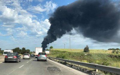 Incendio a Pomezia, il punto dell'IIA
