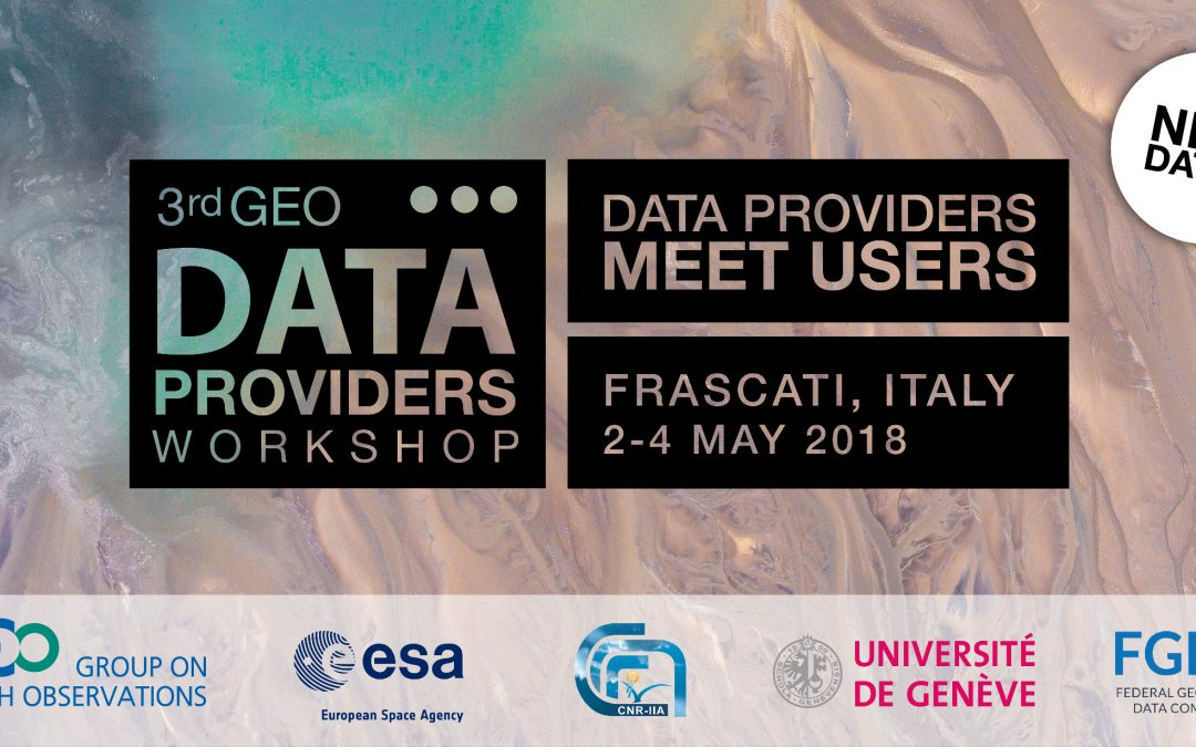 3rd Data Providers workshop