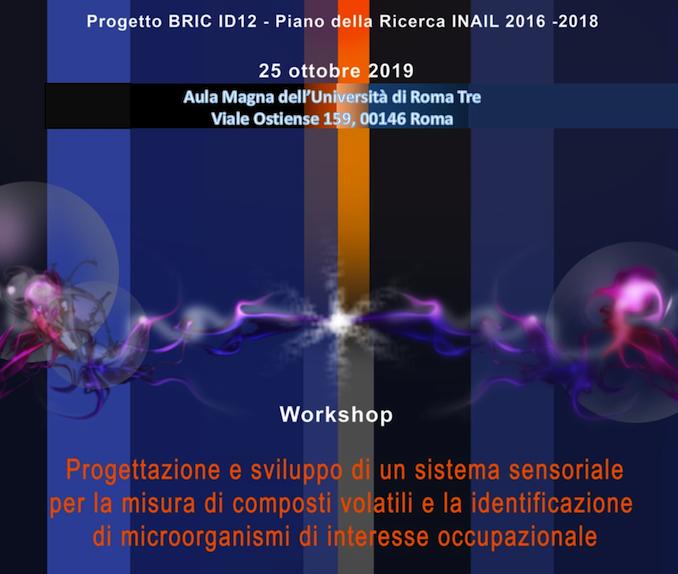 BRIC ID12 – Workshop @ Aula Magna UniRoma3