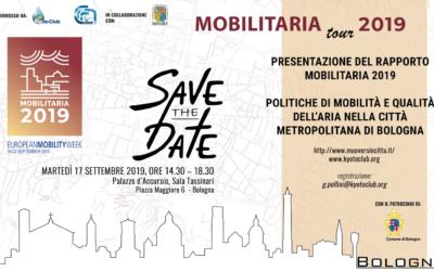 """Il """"Mobilitaria Tour 2019"""" fa tappa a Bologna e Palermo"""