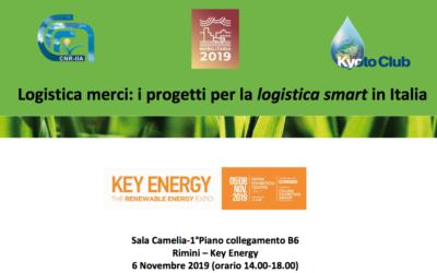 Logistica merci: convegno CNR-IIA e Kyoto club @ Ecomondo, Rimini