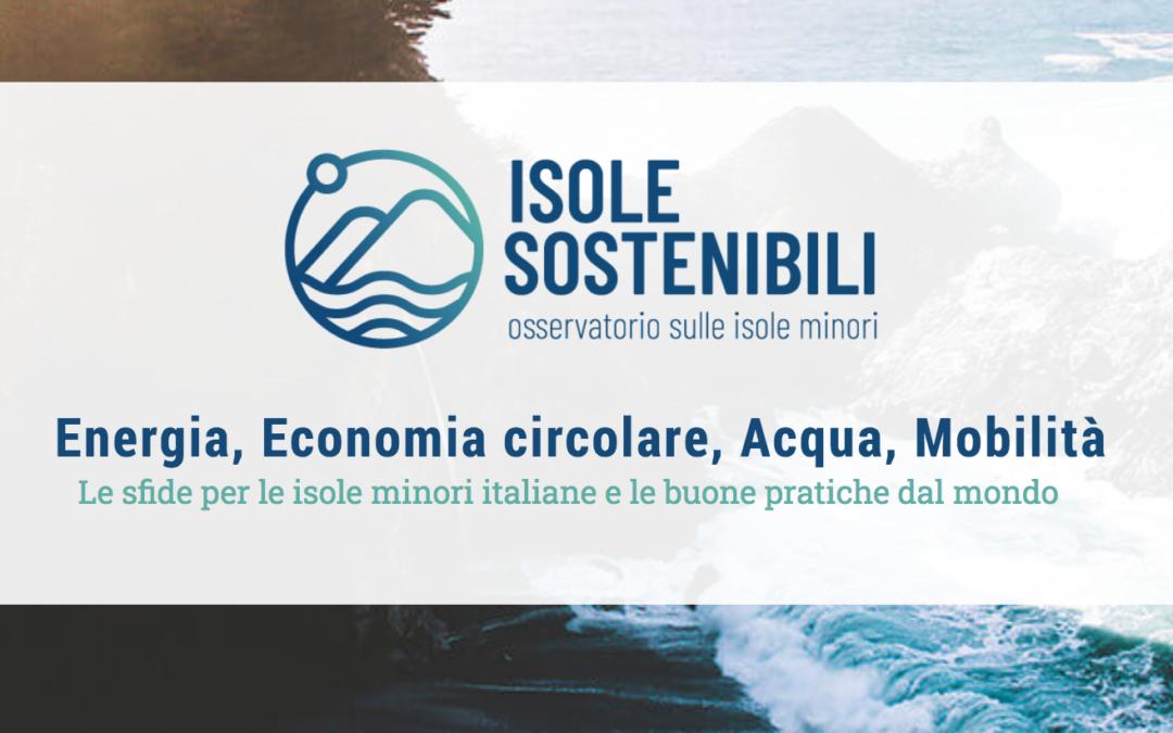 """Report """"Isole sostenibili"""" 2020"""