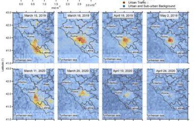 Lazio: migliorata la qualità dell'aria durante il lockdown